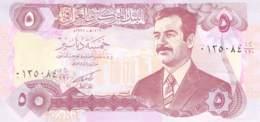Five Dinars Banknote Irak - Iraq