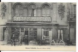 Niort - Maison Thézard - Cycles Peugeot - Vélos - Niort