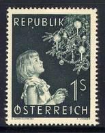 Timbres Neufs** D'autriche, N°827 Yt, Noël 1953, Fillette - 1945-60 Neufs