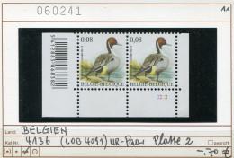 Buzin - Belgien - Belgique -  Belgium - Belgie - COB 4091 - Michel 4136 - Paar Platte 2   - ** Mnh Neuf Postfris - 1985-.. Pájaros (Buzin)