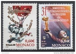 MONACO 2006 - SERIE N°2566 ET 2567 - NEUFS** - Unused Stamps