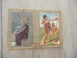 Calendrier Pub Chocolat Poulain 1906 Fleurs Animées Antiquité - Petit Format : 1901-20