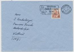 SCHWEIZ / SUISSE 287/502 Gest. INTERNATIONALE HUNDE-AUSSTELLUNG LUZERN 1951 - Hunde