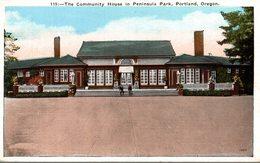 THE COMMUNITY HOUSE IN PENINSULA PARK PORTLAND OREGON - Portland