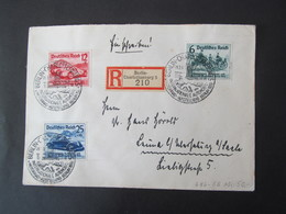 DR 686-688, 1939,  R-Brief Berlin Charlottenburg *DEL2206* - Allemagne