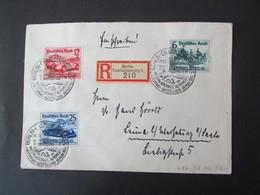 DR Nr. 686-688, 1939,  R-Brief Berlin Charlottenburg *DEL2206* - Allemagne