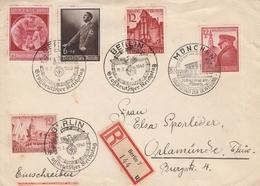 Allemagne Lettre Recommandée Berlin 1940 - Allemagne