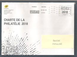 France, Entier Postal, Prêt à Poster, Enveloppe, International 100g, TTB, Phil@poste, Charte De La Philatélie 2018 - Postwaardestukken