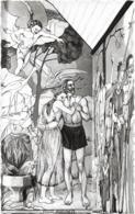 D56 - CARNAC - CHAPELLE SAINT MICHEL DU TUMULUS -   CREATION DU MONDE TERRESTRE ET DE L'HOMME ALICE PASCO - Carnac