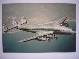 Avion / Airplane / S.A.A. - South African Airways / Super Constellation / Size: 12,5X19cm - 1946-....: Era Moderna