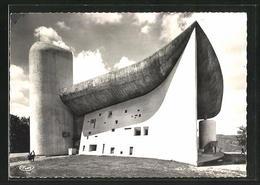 AK Ronchamp, Chapelle Du Notre Dame Du Haut, Bauhaus-Architekt Le Corbusier - Buildings & Architecture