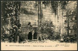 CP 80 Saint Valery Sur Somme - Ruines De L'abbaye, La Sacristi - Saint Valery Sur Somme