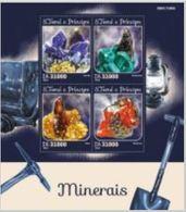 Saint Thomas 2016 Minerals Minéraux   MNH - Minéraux
