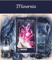 Saint Thomas 2016 Minerals Minéraux BF  MNH - Minéraux