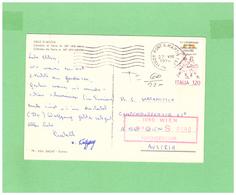 1979 ITALIA VIAGGIATA SINGOLA X L'AUSTRIA - 6. 1946-.. Repubblica
