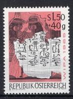 Timbres Neufs** D'autriche, N°1020 Yt, Exposition Philatélique De Vienne, Message égyptien, Hiéroglyphes - 1945-.... 2ème République