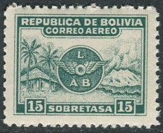 Bolivia 1928. Michel #169 MNH/Luxe. Airplanes  (Ts21/B03) - Bolivia