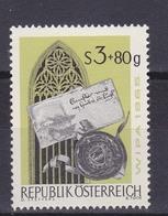 Timbres Neufs** D'autriche, N°1023 Yt, Exposition Philatélique De Vienne, Message Gothique - 1945-.... 2ème République