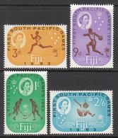 1963 Fiji  South Pacific Games Hockey Complete Set Of 4 MNH - Fidji (1970-...)