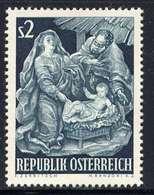 Timbres Neufs** D'autriche, N°981 Yt, Noël 1963, Nativité, Crèche - 1945-.... 2ème République