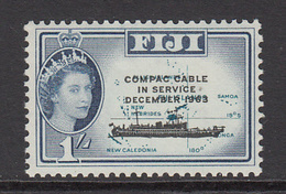 1963 Fiji  COMPAC Cable Ship Telephone  Complete Set Of 1 MNH - Fidji (1970-...)