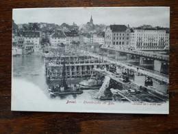 Suisse. Basel. Rheinbrucke Im Bau - BS Basle-Town