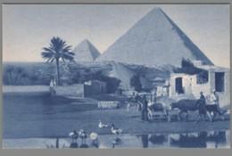 CPA Egypte - Missions D'Afrique - La Pyramide De Khéops - Piramidi