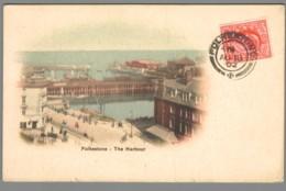 CPA Royaume Uni - Folkestone  - The Harbour - Folkestone