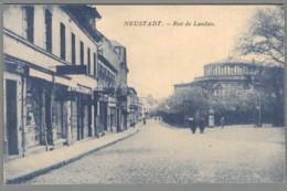 CPA Allemagne - Neustadt - Rue De Landau - Neustadt (Weinstr.)