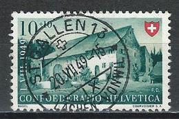 SBK B43, Mi 526 Stempel St. Gallen 13 - Used Stamps
