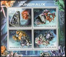 Togo 2012 Minerals Minéraux   MNH - Minéraux