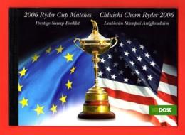 IRLANDE 2006 - CARNET DE PRESTIGE YT C1729 - NEUF** MNH - Sport, Golf, Ryder Cup 2006 - Libretti