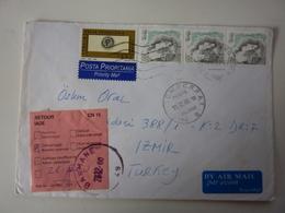 Busta Viaggiata Prioritaria Per La Turchia 2000 - 6. 1946-.. Repubblica