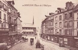 14 /HONFLEUR / PLACE DE L OBELISQUE - Honfleur