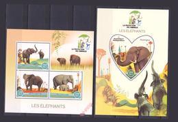 Madagascar Faune éléphants 2018 Dents - Elefanti