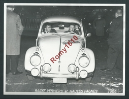 Rallye De Verviers Et Hautes Fagnes 1964.  Volkswagen Coccinelle. Photo Stourme. 2 Scans. - Automobiles
