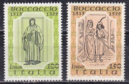 Repubblica Italiana, 1975 - Boccaccio - Nr.1325/1326 MNH** - 1971-80: Ungebraucht
