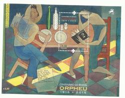 Portugal 2015 - Centenary Orpheu Magazine S/S MNH - 1910 - ... Repubblica