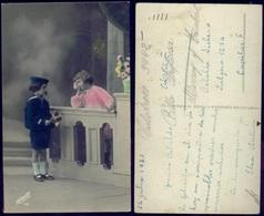 FLOWERS FLEURS - ENFANTS - Roméo Et Juliette Sur Le Balcon - Spanish Postcard 1927 Margara - Escenas & Paisajes