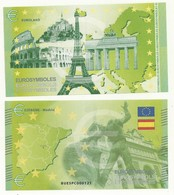 BILLET TOURISTIQUE MADRID/ESPAGNE EUROLAND THEME  CAPITALES  EUROPEENNES  NEUF SUPERBE - EURO