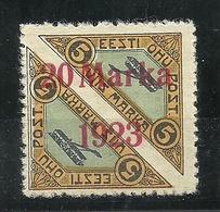 Estland Estonia 1923 Michel 44 A MNH Ist Etwas Gehaftet Gewesen (Haftspuren Teilweise Auf Gummi) - Estonie