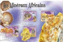Centrafrique 2011 Minerals Minéraux    MNH - Minéraux