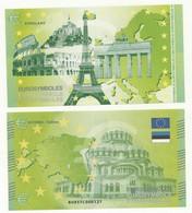 BILLET TOURISTIQUE TALLIN/ESTONIE  EUROLAND THEME  CAPITALES  EUROPEENNES  NEUF SUPERBE - EURO