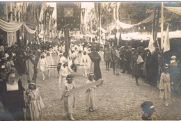 SCHERPENHEUVEL - FOTOKAART - KRONINGSFEESTEN 1922 - 4. DE GEBOORTE VAN JEZUS - Scherpenheuvel-Zichem