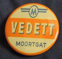 Pin Button Badge Ø38mm VEDETT (bière) 5 - Bière
