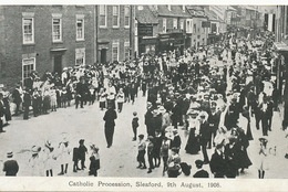 Sleaford Catholic Procession August 9, 1908 - Altri