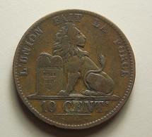 Belgium 10 Centimes 1848/38 - 1831-1865: Léopoldo I