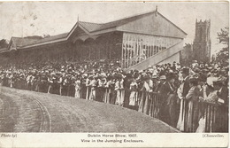 Dublin Horse Show , 1907 , View In The Jumping Enclosure  To De Boissieu Chateau Foret Toulon Sur Allier Taxe - Dublin