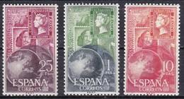 Spagna, 1964 - International Stamp Day - Nr.1244/1246 MNH** - 1931-Oggi: 2. Rep. - ... Juan Carlos I