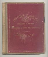 DOLHAIN - Institut St - Joseph  - Couverture ( SEULE ) En Carton Fort D'un Cahier  +/- 1935 (xh) - Vieux Papiers